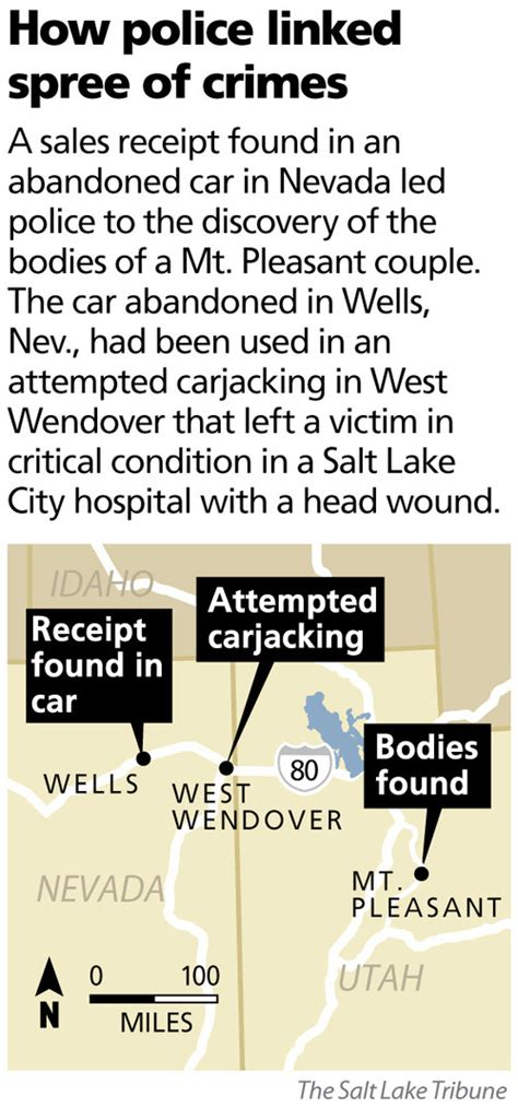 Salt Lake Sheriff Warrant Search Arrests Made In Mount Pleasant Killings After Manhunt The Salt Lake Tribune