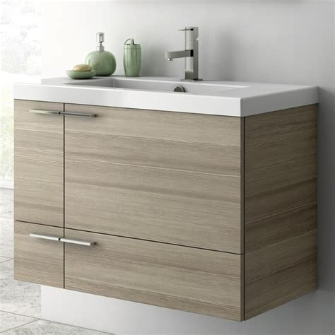 31 Bathroom Vanity Cabinet 31 Inch Vanity Cabinet With Fitted Sink Contemporary Bathroom Vanities And Sink Consoles