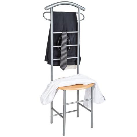 sedia attaccapanni 2x appendiabiti da servomuto indossatore sedia