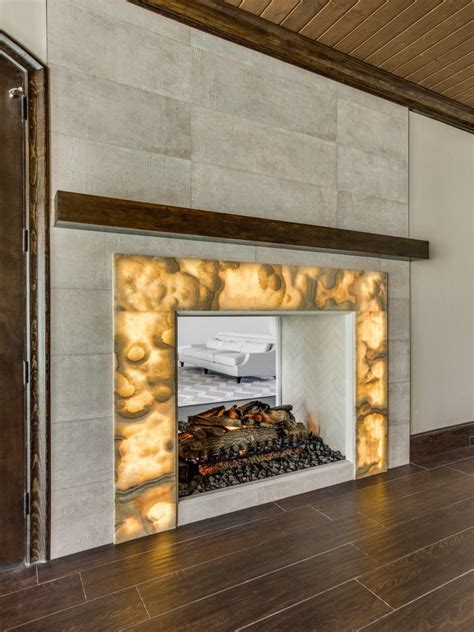 Onyx Fireplace by Backlit Onyx Nuvolato Room Bar By M2 Designs