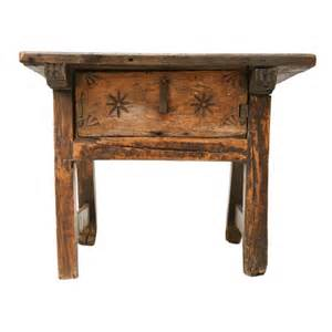 Rustic End Tables And Coffee Tables C 1750 Rustic Oak Coffee End Table At 1stdibs