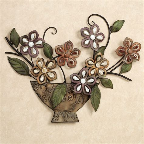 Floral Wall Decor by Autumn Melody Floral Metal Wall Sculpture
