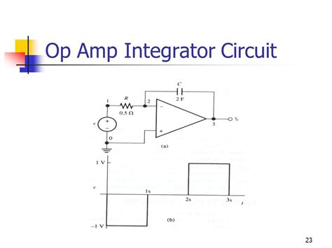 circuit of integrator lifier chapter 8 the operational lifier part i using pspice ppt