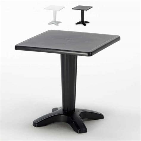 cafe tavolino tavolino quadrato da esterni bar ristorante zavorrabile