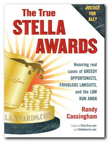 stella diaz has something to say books the true stella awards exposing lawsuit abuse with true cases