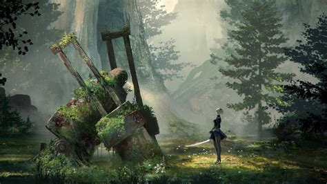 nier automata concept art wallpapers in jpg format for