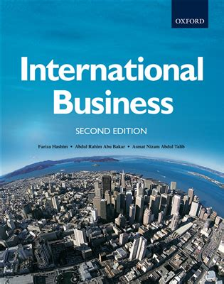 A M International Mba by International Business Oxford Fajar Resources For