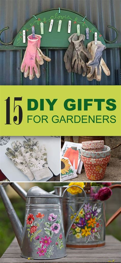 easy unique diy gifts  gardeners unique garden