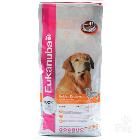 food for golden retriever eukanuba golden retriever food