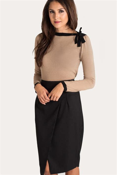 1000 ideas about black pencil skirts on satin