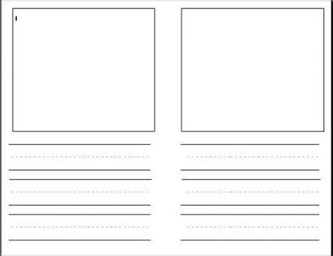 blank writing paper with picture box essay exle on