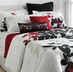 Kohls King Size Comforter Sets Red Black White Comforter Set Dream Bedroom Pinterest