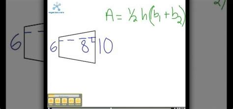 area calculater how to calculate the area of a trapezoid 171 math wonderhowto