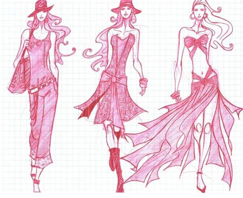 design fashion sketch 55 inspiring fashion sketches illustrations