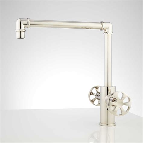 faucet wall mount single handle railing stairs and
