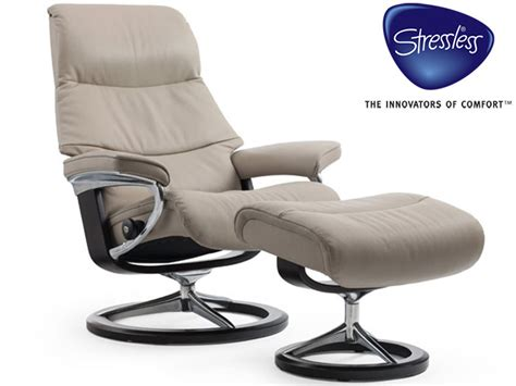 buy recliner chairs online stressless view recliner and stool in cori leather