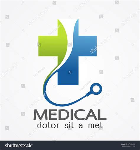 Medical Pharmacy Logo Design Template Vector Stock Vector 285159578 Shutterstock Illustrator Logo Templates
