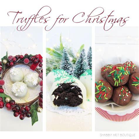 Handmade Truffles - handmade truffles that will delight everyone shabby