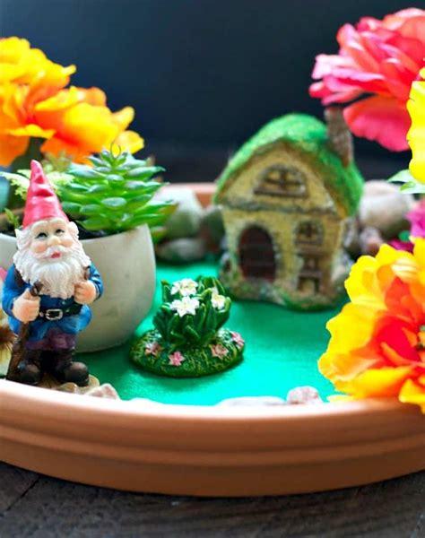 indoor fairy garden  easy craft  kids  seasoned mom