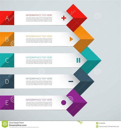modern home design vector modern arrow infographics elements stock vector image