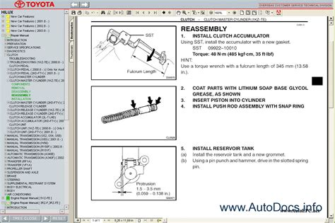service manual free download parts manuals 1997 toyota previa lane departure warning car toyota hilux 1997 2005 service manual repair manual order download