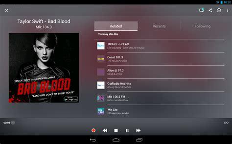 live radio tunein radio pro live radio android apps on play