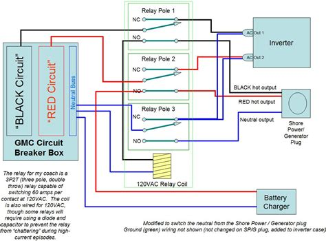 inverter connection at home circuit diagram circuit and