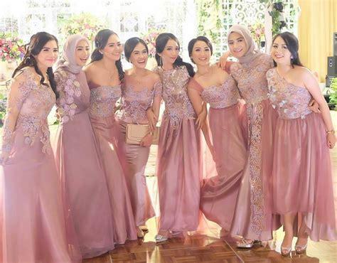 Longdress Biru Cc bridesmaid inspiration by ameliapungky kostum kondangan