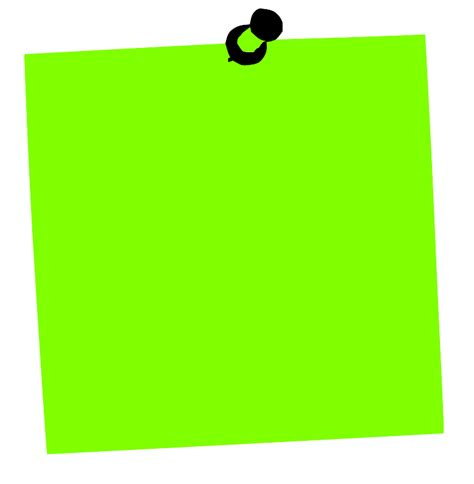 Green Dino Sticky Notes Post Its post it clipart cliparts co