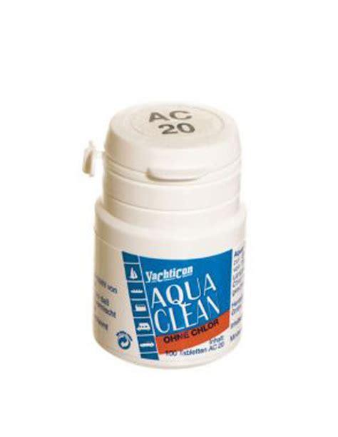Ac Aqua Aqa K105ag6 aqua clean ac 20 ohne chlor 100 tabletten ebay