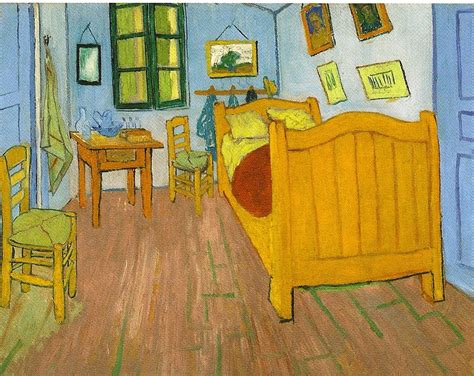 vincent van gogh the bedroom 1889 postcard from amsterdam van gogh s the bedroom cv
