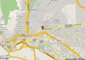 map of econo lodge fort bliss el paso