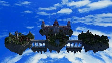 palace  life floating minecraft building