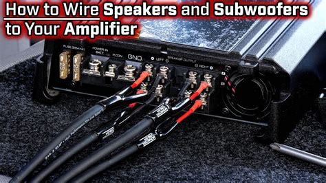 wiring a 2 channel in series to 4 speakers wiring