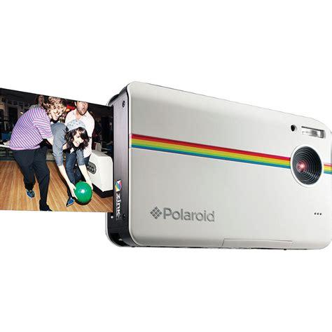 polaroid instant z2300 polaroid z2300 instant digital white polz2300w b h