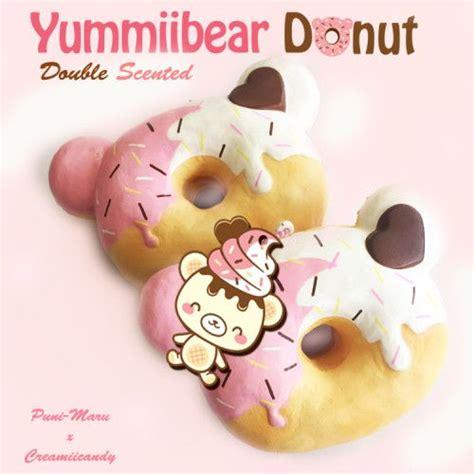 Cutiecreative Mini Bun jumbo yummiibear donut squishy scented squishies donuts and
