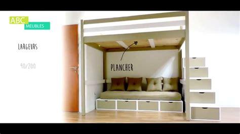 lit mezzannine lit mezzanine sylvia abc meubles