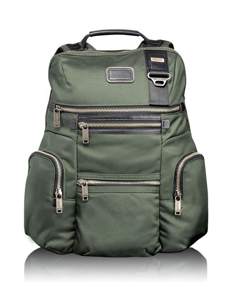 Tumi Backpacker 1 tumi alpha bravo backpack in green for spruce lyst