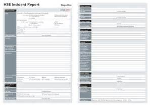 Ohs Incident Report Template Free by Incident Reports Lockbox Safety Documentation