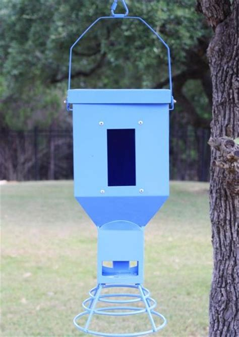 Ornamental Bird Feeders Decorative Bird Feeder Blue Spintech Spreaders Deer