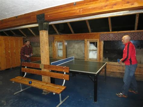 ping locker room ping pong table outside the ski locker room picture of alta wasatch range tripadvisor