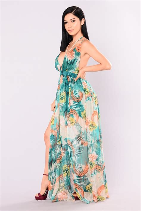 Cattleya Maxy cattleya maxi dress green
