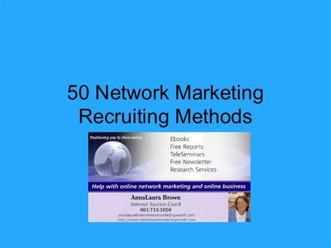 templates for mlm business 50 network marketing recruiting methods