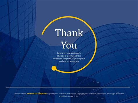 ppt templates for thanks official thank you card for business powerpoint slides