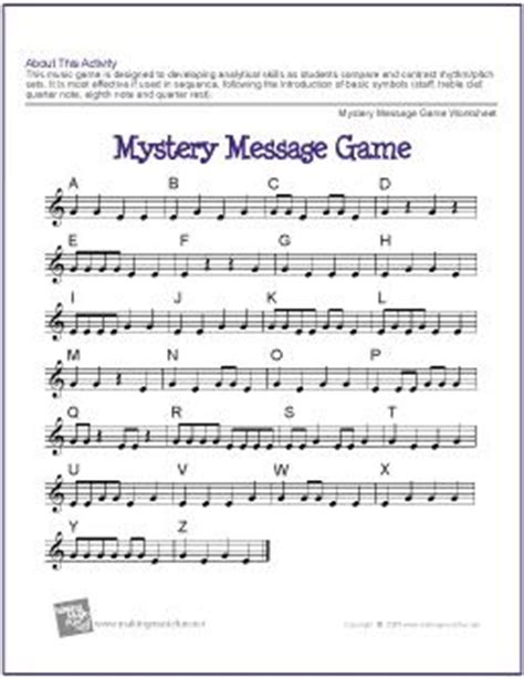 printable games for music 1000 images about music ed printable worksheets on