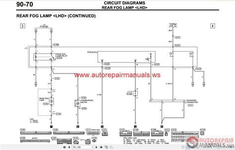 mitsubishi lancer ix 2005 wiring diagrams auto repair