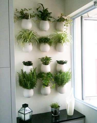 plantes cuisine mur v 233 g 233 tal de plantes aromatiques dans une cuisine