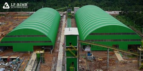 thailand clinker cement production  storage shed space