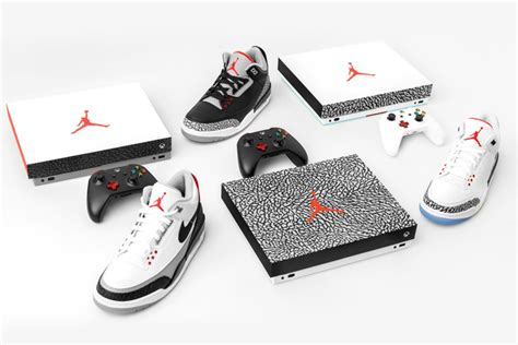 Air Jordan Giveaway - xbox one x air jordan 3 console sneaker bar detroit