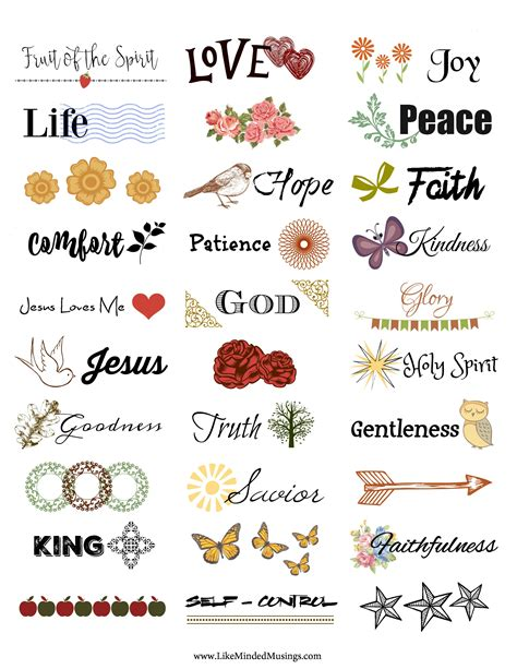 printable glass stickers free printable faith stickers spice up your art crafts